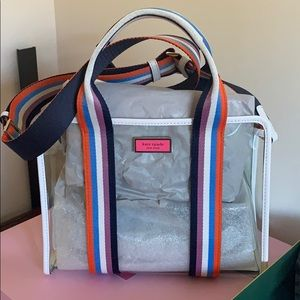 Brand New Kate Spade clear satchel.